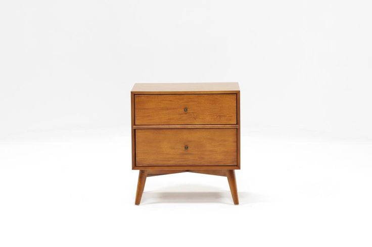 Alton Cherry Nightstand - 360