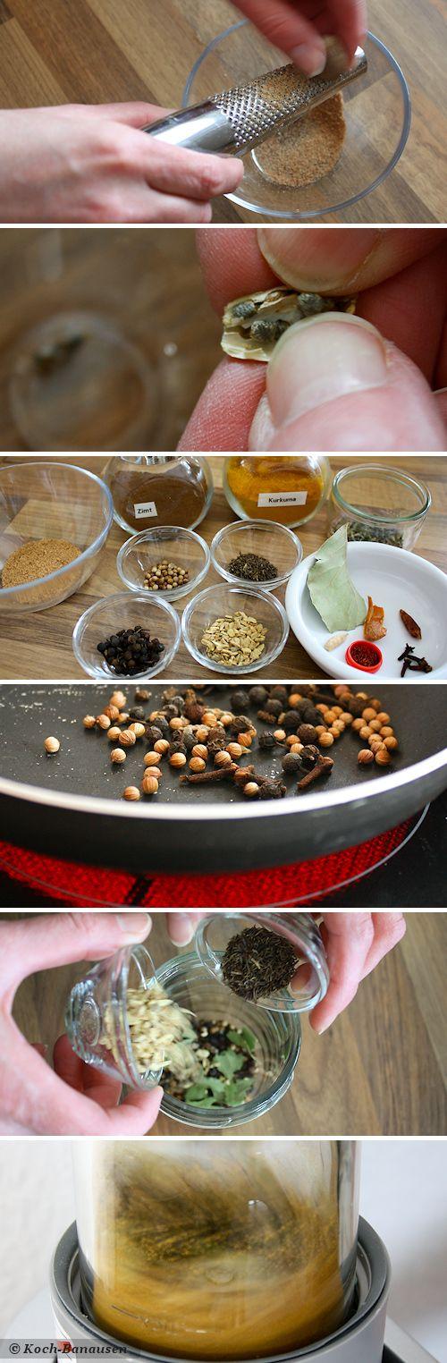Ras el-Hanout - einfach selber machen - Zubereitung