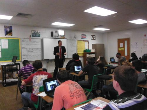 Evan Guthrie Law Firm took part in the Woodland High School Career Day at Woodland High School in Dorchester, SC on Wednesday March 8, 2017 #wood #land #high #school #career #day #highschool #lawyer #attorney #lawfirm #dorchester #county #southcarolina #business #donate #time #money #advice #wisdom #job #education