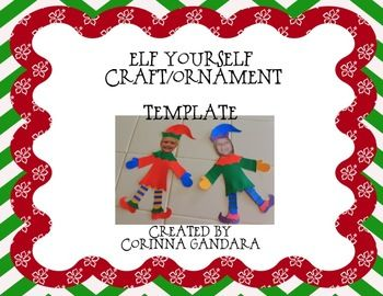 This is a template that I created to help you Elf Yourself.   If you do download and use I would love your feedback!  Aloha and Mele Kalikimaka!!