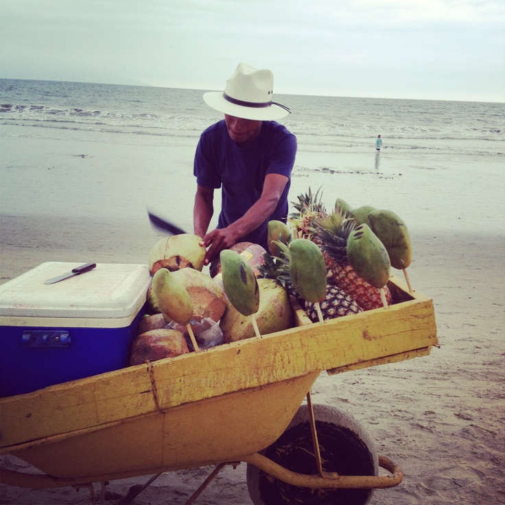 Fresh #pineapple #mexico #coconut #puerto vallarta