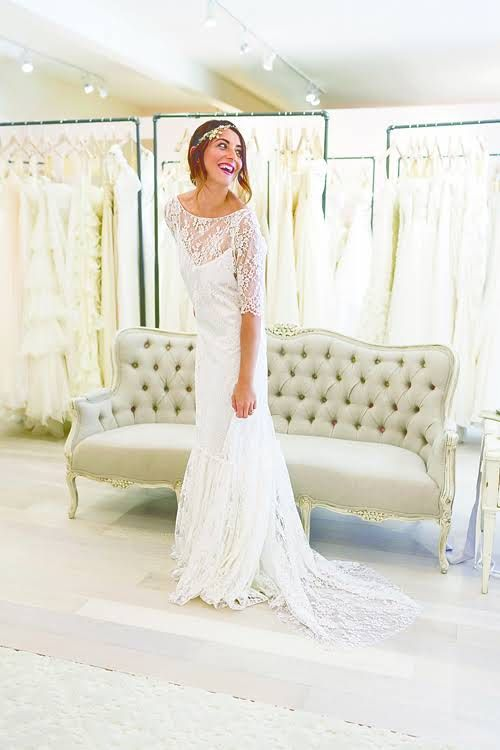 The Best Etiquette for Wedding Dress Shopping You Should Know