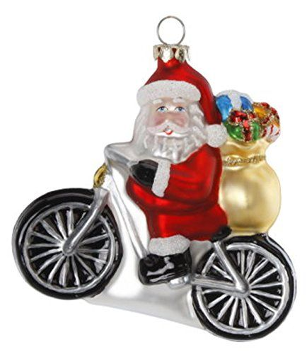 Inge-Glas Christbaumschmuck Santa auf Motorrad 10cm Inge-glas http://www.amazon.de/dp/B00PY045X4/ref=cm_sw_r_pi_dp_UkROub1Y1DF3Y