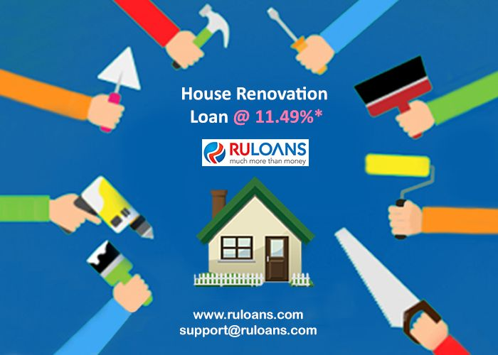 Turn your house to your dream home! Get a #PersonalLoan starting from now @ 11.49%* For more details visit - http://buff.ly/28VFBaP #Ruloans #BorrowRight