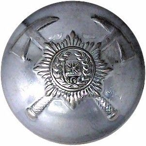 British Fire Services Association 26mm Chromeplated Fire