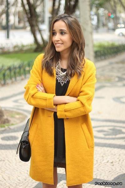 Купить желтое пальто в ростове