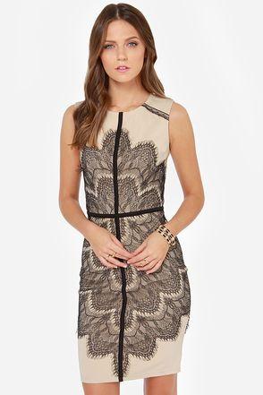 17 Best ideas about Beige Lace Dresses on Pinterest | Pretty ...