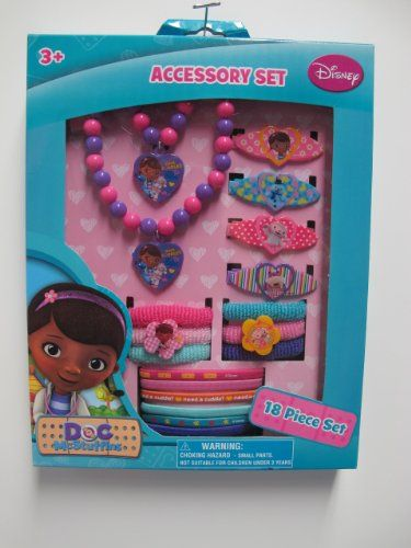 Amazon.com: Doc Mcstuffins Hair and Jewelry Box Set: Toys & Games