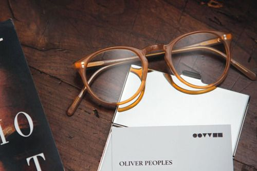 Oliver PeoplesOliver Peoples, Men Style, Art Piece, Vintage Frames, Glasses Art, Eyewear, Olive People, Geek Chic, Style Blog