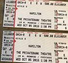 Ticket  Hamilton The Musical Tickets Chicago-6th Row In The Second Week Of Performances! #deals_us