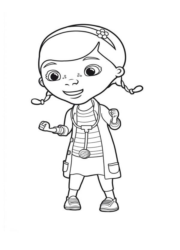 Pinterest the world s catalog of ideas for Doc mcstuffins free coloring pages