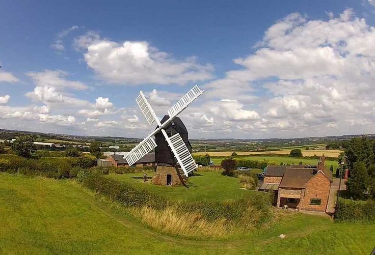 Restored historic windmill for sale in West Hallam — The Particulars