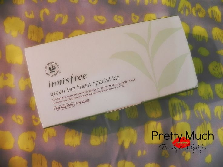 Innisfree Green Tea Fresh Trial Kit By PrettyMuchChannel  Saturday, August 16, 2014 // Innisfree Green Tea Fresh Trial Kit
