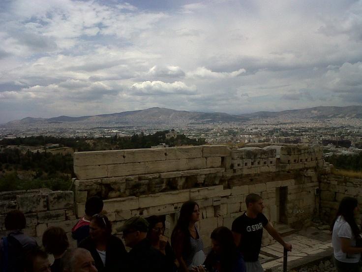 Worth the climb - Athens