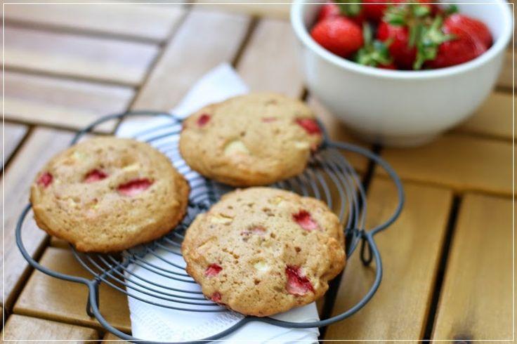 {Strawberry} Erdbeer-Cookies ...