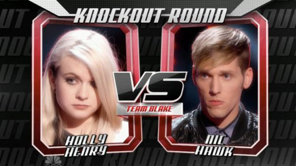 "Holly Henry sang ""Creep"" by Radiohead and Nic Hawk sang ""Genie in a Bottle"" by Christina Aguilera on The Voice Knockout Rounds for Team Blake Shelton. See recap of tonight's 'Knockout Rounds' part 1 here. Judges: Christina Aguilera: I love when women are fearless. Nic, you took a risk with this song. This is a […]"