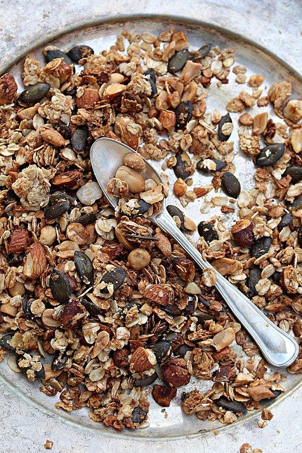 Vegansk granola | sweetandsimple |