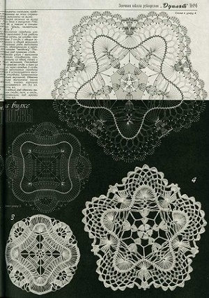 Duplet 86 Russian crochet patterns magazine
