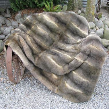 28 Skin Possum Fur Throw