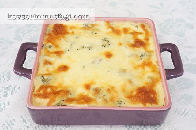 Brokoli Graten Tarifi - Kevser'in Mutfağı - Yemek Tarifleri