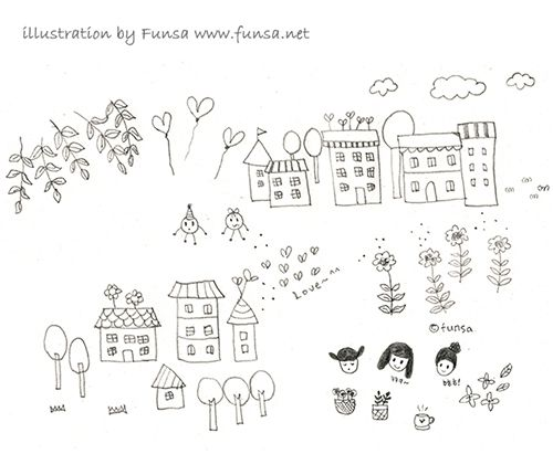 illustration, drawing, linedrawing, pen, doodle, Funsa, 일러스트, 드로잉, 낙서, 스케치북, 펀사