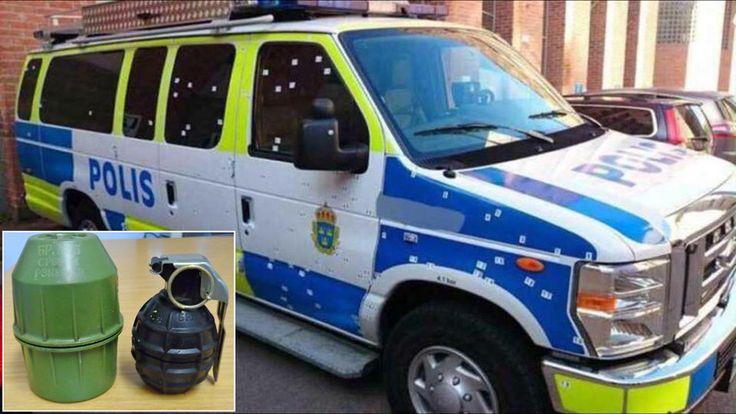 Zweden – Brandweer metpolitie-escorte. Ambulancepersoneelmet kogelvrije vesten.In de steeds toenemende aantal probleemwijken, ofno go zones, die de laatstedecennia door hetZweedseimmig…
