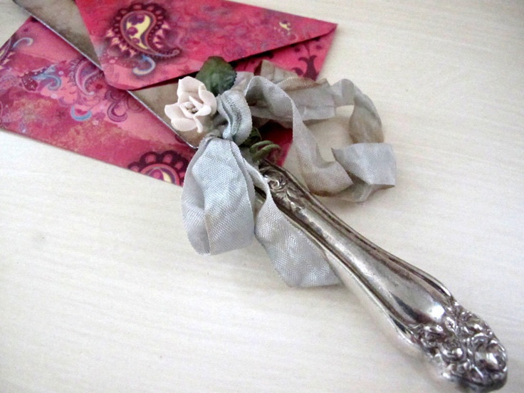 vintage letter opener original design by suzanne maccrone