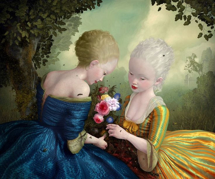 'From Such Foulness of Root does Sweetness Grow.' By Ray Caesar, 2009. English artist born in London. Now lives in Canada. He considers himself to be half man, half dog.
