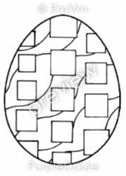 Abstract Egg 4 Printable Coloring Page Easter Fun Art By Rena PurpleDaizieArts