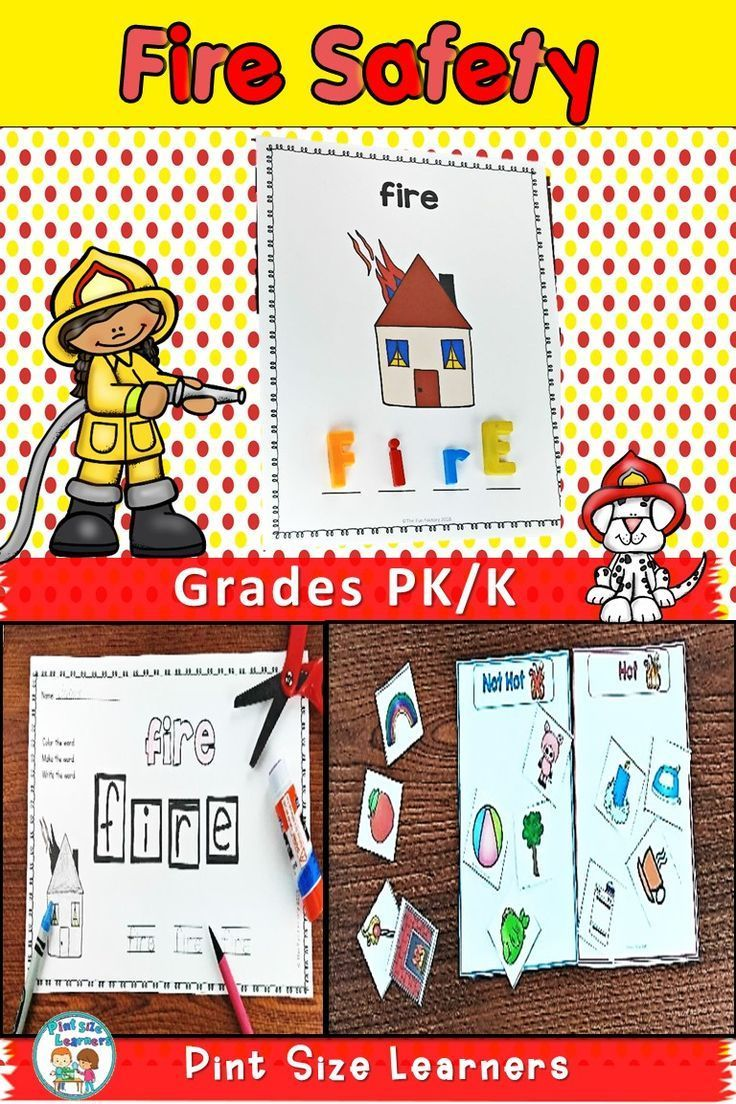 October Is Fire Safety Month Your Pk And Kindergarten Students Will Learn All About Staying Safe With This Fire Safety Fire Safety Week Fire Safety Activities [ 1104 x 736 Pixel ]