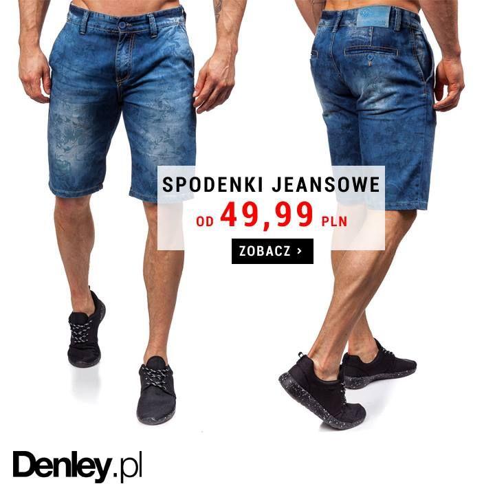 Złap okazję - jeszcze przed końcem sezonu! Spodenki jeansowe - w 20 różnych modelach - dostępne są w naszej letniej kolekcji już od 49,99 zł! Wybierz te idealne dla Ciebie →
