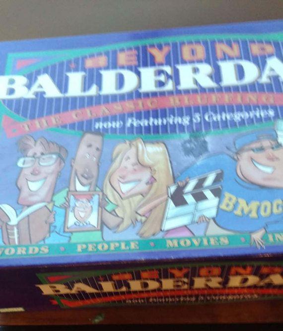 Vintage 1997 'Beyond Balderdash' Board Game