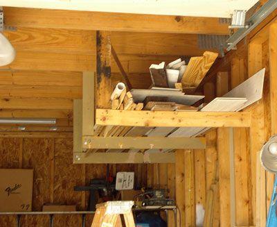 Build DIY Storage Shelves & Organize the Garage