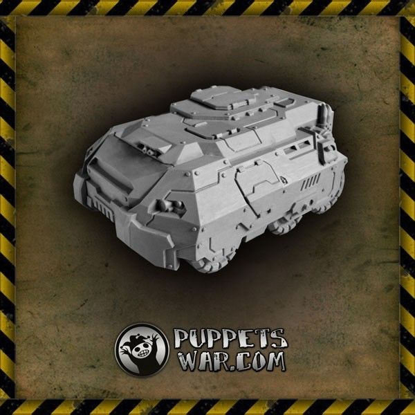 I think that our Brick vehicle would be a great car for some drivers. Very forgiving for bad driving, shock resistant and easy to park without fear of paint being scratched. Taurus APC also known as Brick. https://puppetswar.eu/product.php?id_product=269