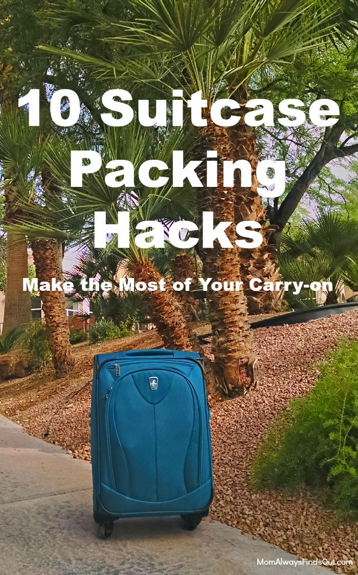 How to Pack a Suitcase: Make the Most of Your Carry On #AtlanticLuggage #ad