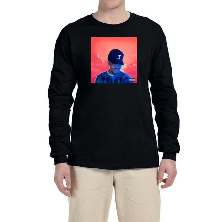 Details about Chance The Rapper Coloring Book Long Sleeve