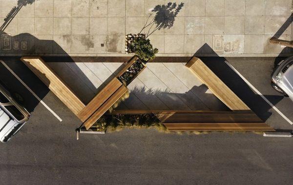 Architizer Blog » Check Out This New, Super-Cute San Francisco Parklet!