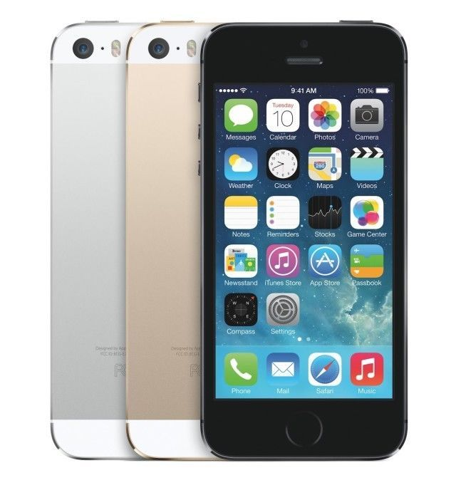 Apple iPhone 5s 16GB 4G Smartphone (Factory Unlocked) AT&T, T-Mobile, ... - N/O #Apple #Bar