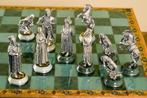 Элитная шахматная доска для настоящих ценителей