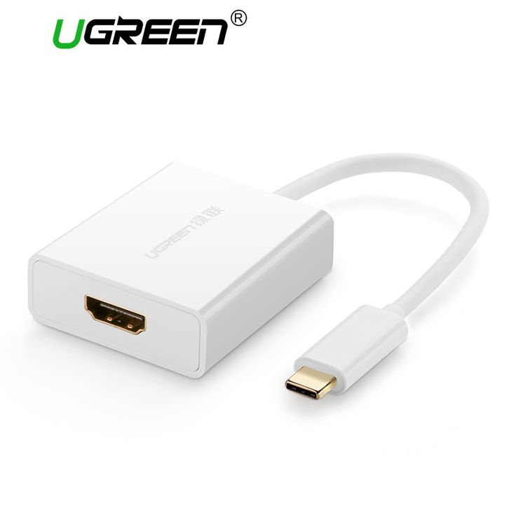 Ugreen USB C to HDMI Type C to HDMI USB 3.1 Female Adapter Support 4K*2K for Macbook Google Chromebook Pixel USB-C Type-c HDMI