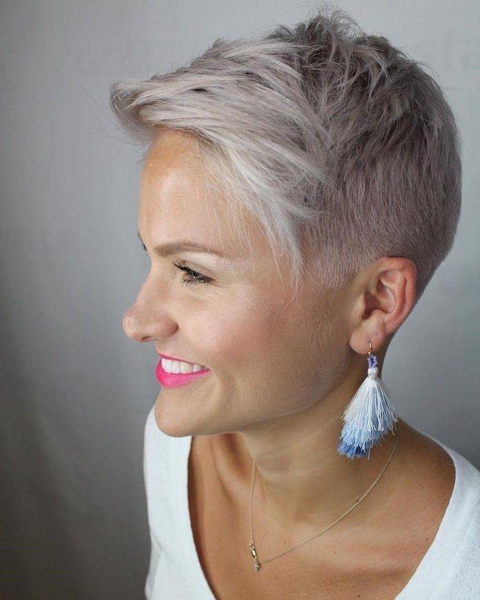 31+ Coiffure courte blond polaire inspiration