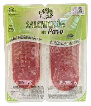 Salchichón de pavo Hacendado (Mercadona) - 3 uds. 1 p