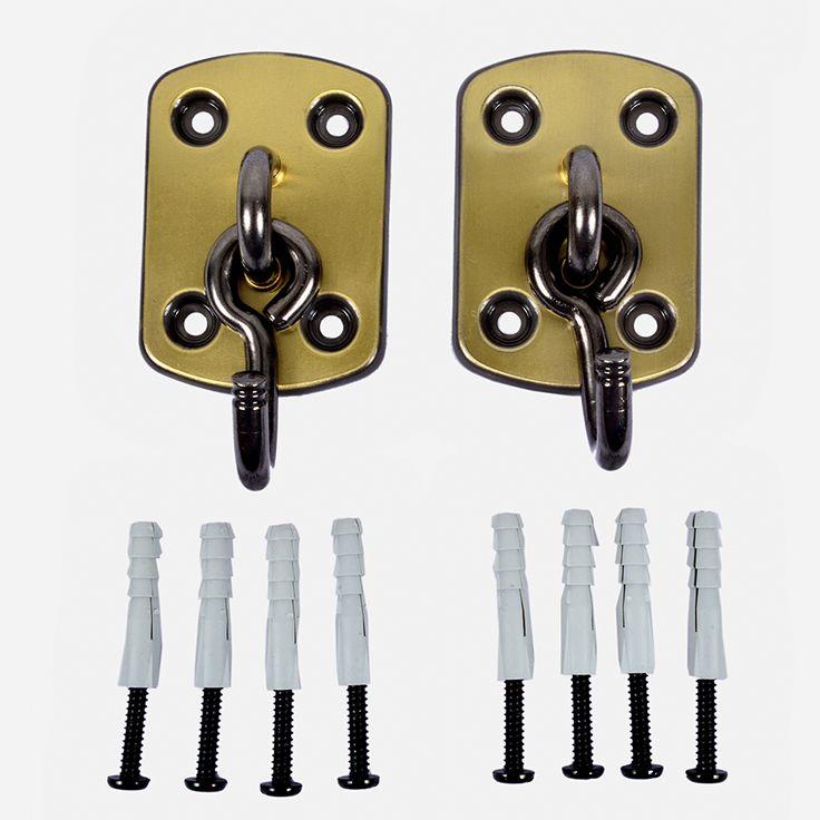 Gancho para Rede de Dormir Oxidado, altamente resistente, suporta até 150 quilos. Visite nosso site e confira http://www.redesdedormir.com/departamento/11808/02/acessorios