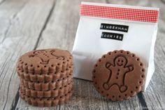 Lebkuchen-Cookies: Mr. Gingerman Keks-Stempel - der süße Lebkuchenmann mit leckerem Rezept für Plätzchen mit Lebkuchengeschmack