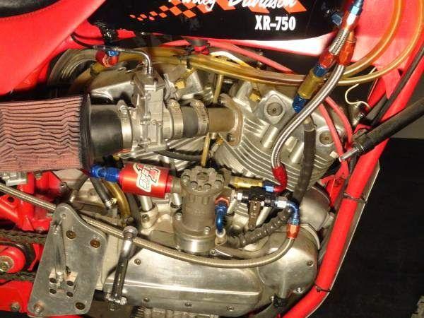 El Corra Motors: fuel injected nitro-methane hillclimber XR750 of t...