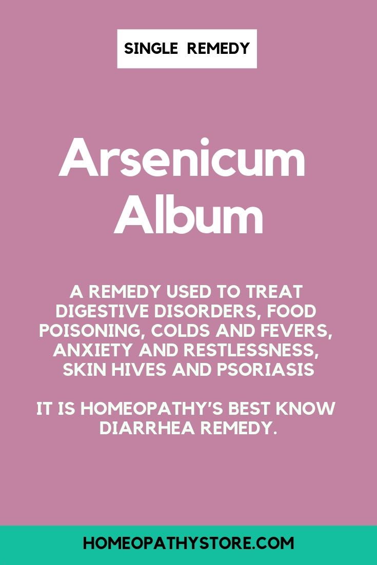 Arsenicum Album | Top 10 Single Remedies | Homeopathic