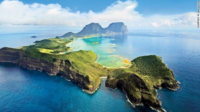 Lord Howe Island, only seven miles long, has one main street and 18 small-scale hotels. See more photos of Budget Travel's hidden places
