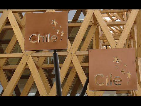 Visita al Padiglione del Cile