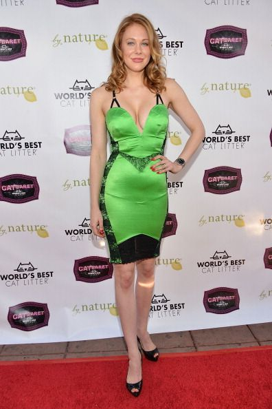 Maitland Ward attends the A CATbaret! - A One Night Only Celebrity Musical Celebration of the Alluring Feline at The Belasco Theater on August 9, 2014 in Los Angeles, California