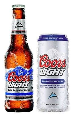 Coors Light MOUNTAINS GOTTA BE BLUE